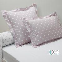 jagodowe kropki poduszki logo