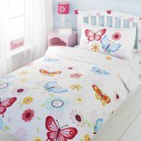 pościel w kolorowe motyle dla dziewczynki i nastolatki wiosenna modna 2015