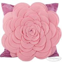 poduszka 3D dekoracyjna FIORE AMARant 45X45