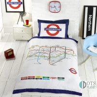 posciel mapa metro dla młodzieży nastolatków ciekawy pomysł na prezent zywe kolory miasta