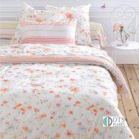 pościel floral 200x200 140x200 220x200 bawełniana w kwiatowy wzór pasetlowa wiosenna optymistyczna na prezent dla mamy babci
