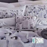 poduszka w pingiwny pinguin colony
