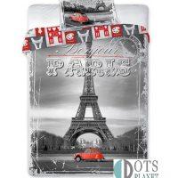 pościel Paris Paryż bawłniana młodzieżowa 160x200 faro kolekcja miasta francja