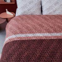merino terra posciel flanelowa na jesien zime 220x200 200x200 wzor jak sweter
