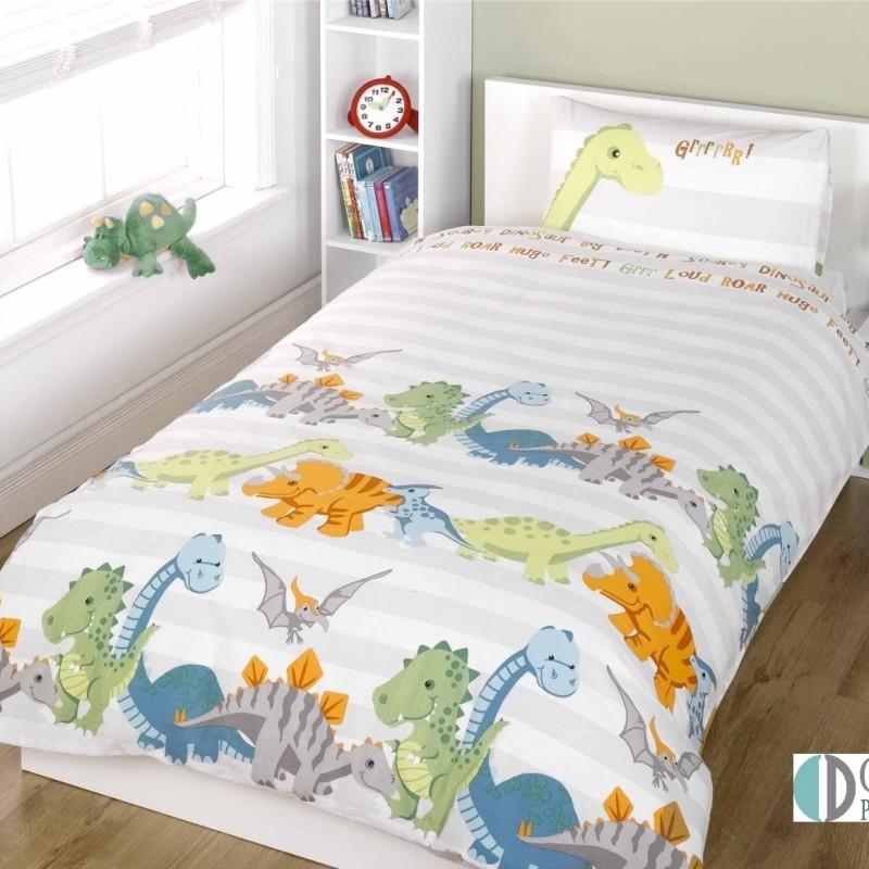 Pościel Dla Dzieci Dino Natural 140x200 Sklep Internetowy