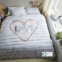 ARIADNE_Lovewood_Natural_pościel bawełniana wysokiej jakości skandynawski styl 220x200 200x200 szara deski drewno