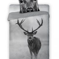Pościel bawełniana na zimę jesień zabawna śmieszna na prezent dla chłopaka osiemnastkę młodzieżowa 160x200+70x80 WILD JELEŃ EAN 5907750542949