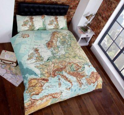 Pościel Mapa 140x200