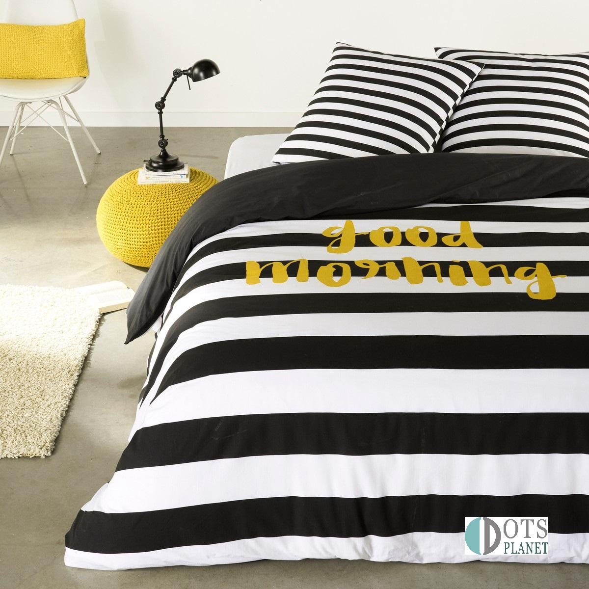 po ciel m odzie owa w pasy pobudka 140x200 sklep z. Black Bedroom Furniture Sets. Home Design Ideas