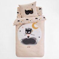 czarna kotka posciel bawelniana dla dziewczynki sklep internetowy