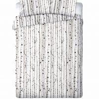 nowoczesna w skandynawskim stylu posciel bialo czarna 160x200