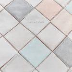 look powder posciel bawelniana pastelowa w romby 200x200 220x200 miekka geometryczna