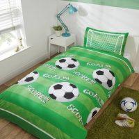 Pościel Piłka Nożna Green 140x200