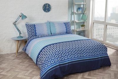Pościel niebieska Barbican Blue 200x200
