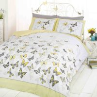 Pościel Żółte Motyle Flutter 140x200
