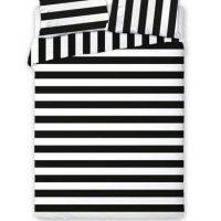 Czarno biała pościel Glamour 001 160x200