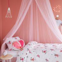 Butterfly Girl Pink słodka pościel dla dziewczynki w motyle motylki 140x200 bawełniana