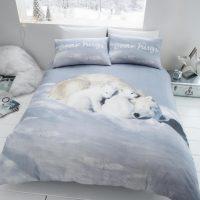 Polar Bear posciel flanelowa na zime