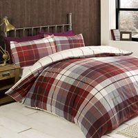 lomond red posciel flanelowa